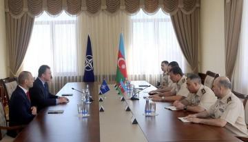 NATO-nun Xüsusi Əməliyyatlar Qərargahının komandanı Azərbaycana gəlib