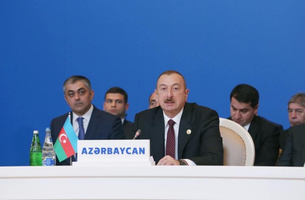 Azərbaycan Prezidenti: Biz enerji sahəsində əməkdaşlığa böyük əhəmiyyət veririk